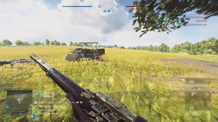 XGS Warbird playing Battlefield V