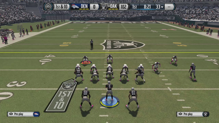 achievet hunt3r playing Madden NFL 16